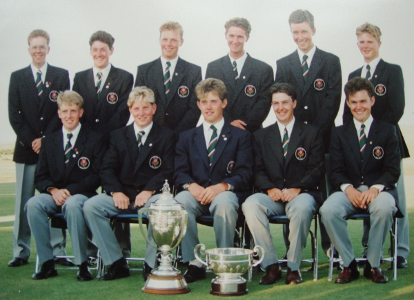 England Boys Golf Team 1991